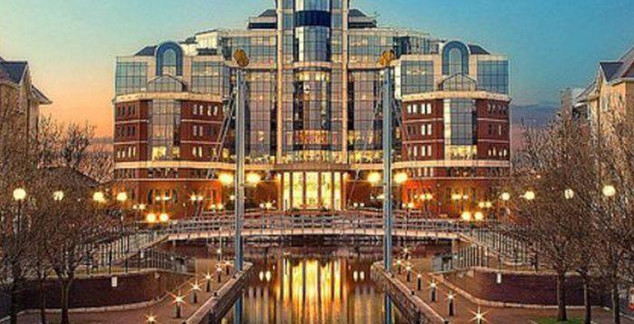 Victoria building Manchester, UK